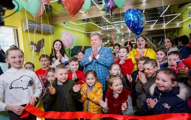 Поплавський відкрив дитяче кафе у себе на батьківщині