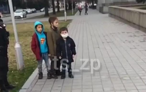 В Запорожье трое детей ограбили магазин