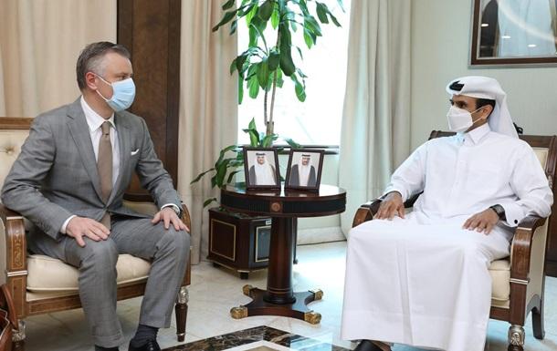 Україна і Катар співпрацюватимуть у нафтогазовій сфері