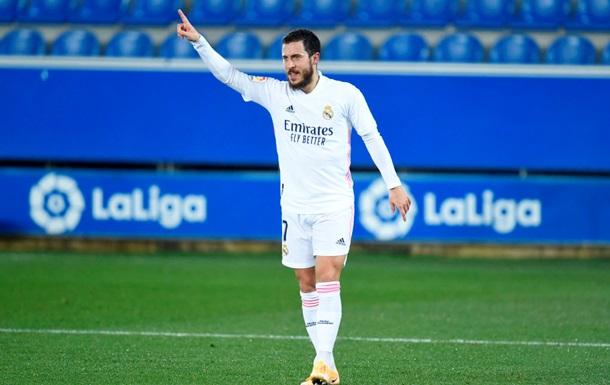 Азар оказался вне заявки Реала на матч с Ливерпулем