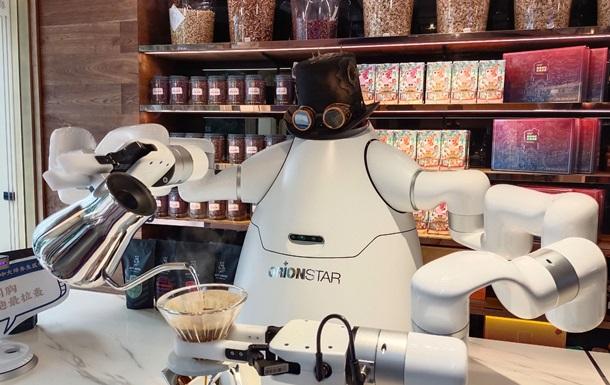 У Китаї створили робота-баристу