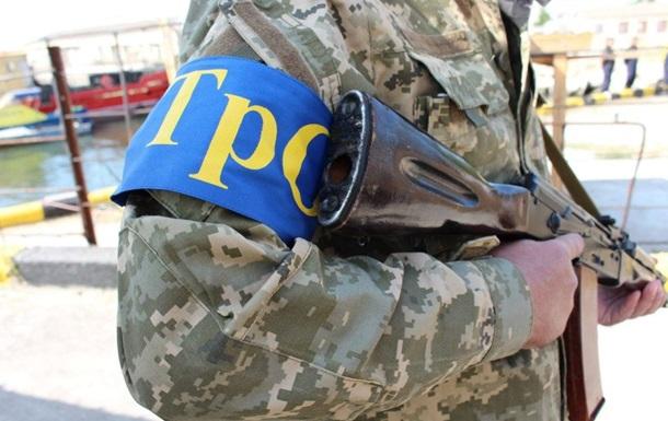 В южных приграничных районах Украины проводятся сборы теробороны