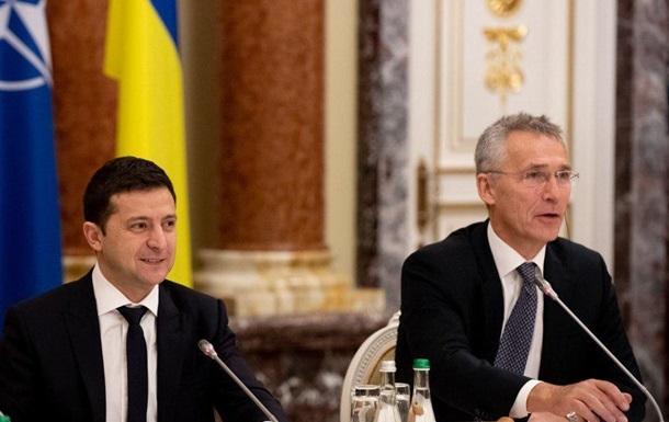 Зеленський і Генсек НАТО обговорили Донбас