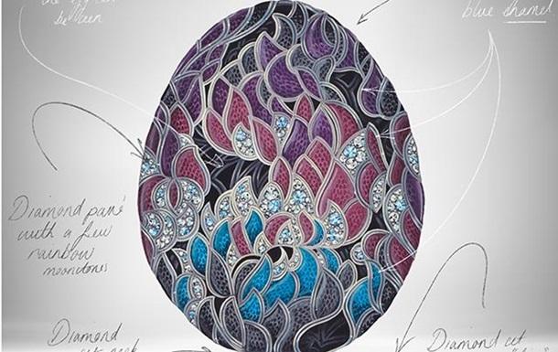 Fabergе представил бриллиантовое яйцо к юбилею Игры Престолов