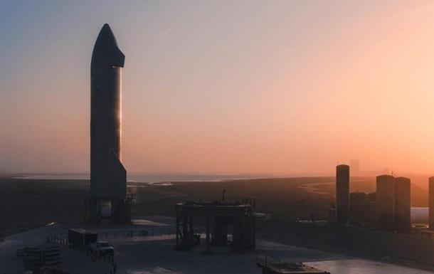 Маск назвав причину аварії Starship