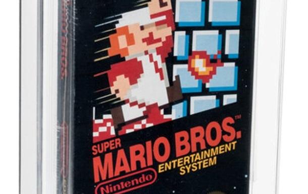 Екземпляр гри Super Mario пішов з молотка за рекордну суму