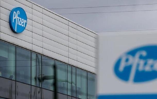 Украина заключила контракт на вакцины с Pfizer