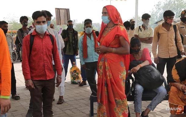 В Індії рекордна кількість COVID-хворих за добу