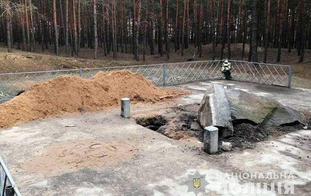 На Полтавщине поврежден мемориальный комплекс Хану Кубрату