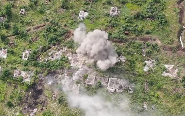 Опубликовано видео уничтожения точки сепаратистов