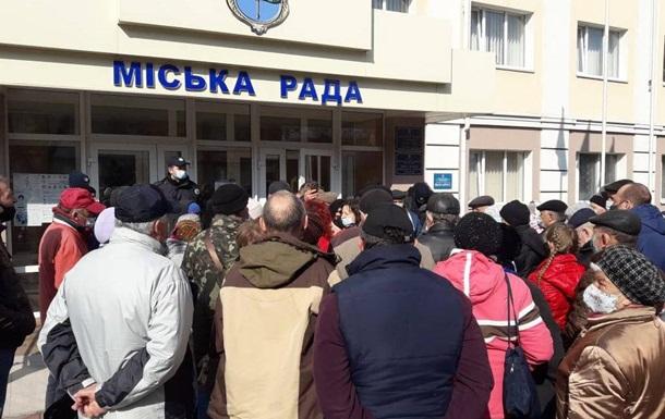 На Полтавщині триває тарифний протест