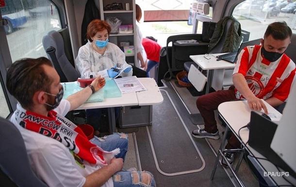 В Польше за сутки умерло рекордное число COVID-пациентов