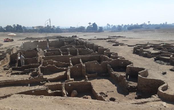 В Египте найден город возрастом свыше трех тысяч лет