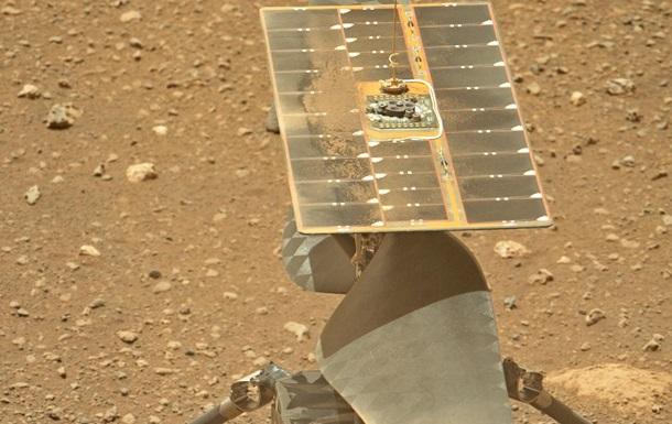 Ровер показал, как марсианский вертолет готовится к первому взлету