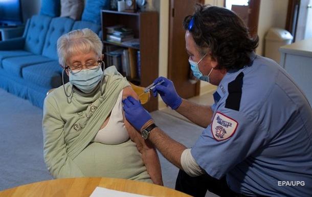 У США вакцинували від CОVID п яту частину населення