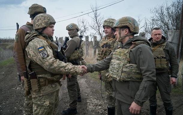 Зеленский озвучил потери на Донбассе в этом году