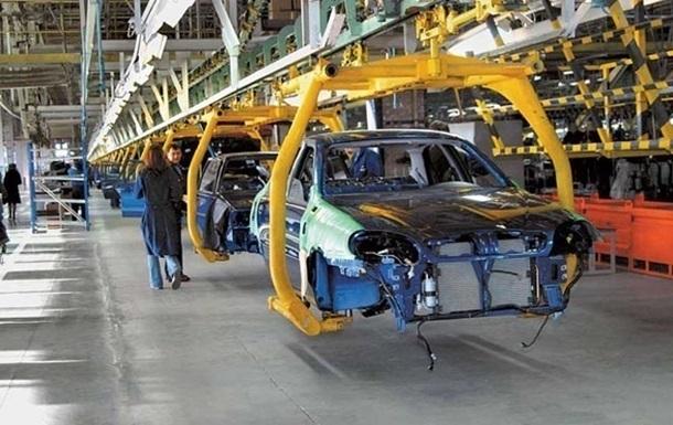 В Украине производство автомобилей выросло на треть
