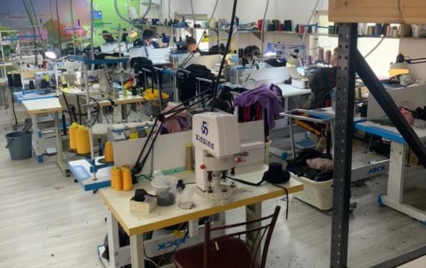В Одессе в подпольных цехах шили  брендовую  одежду
