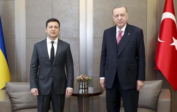 В Стамбуле проходит встреча Зеленского и Эрдогана