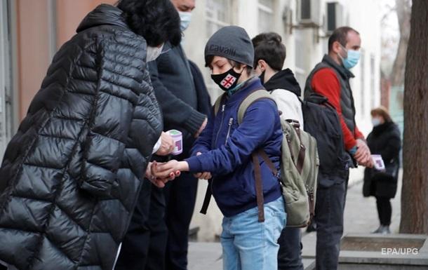 У Грузії заявили про третю хвилю коронавірусу