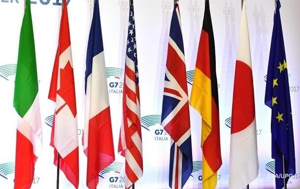 В G7 сделали заявление по стягивание войск РФ