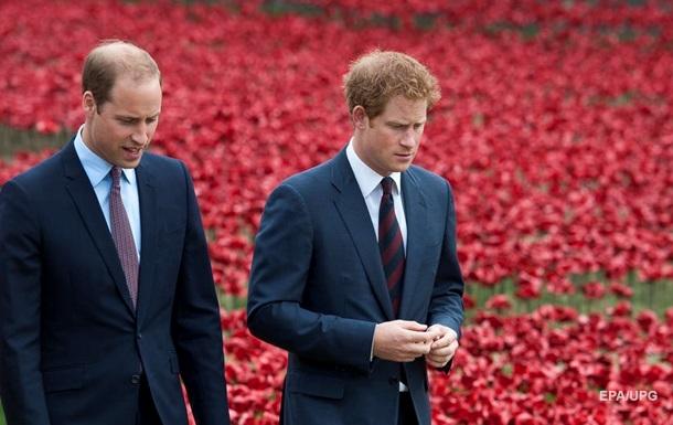 Принци Вільям і Гаррі прокоментували смерть діда
