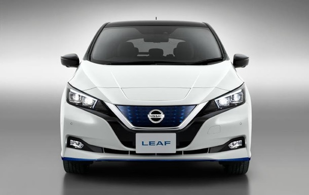 В Україні офіційно продаватиметься електромобіль Nissan Leaf