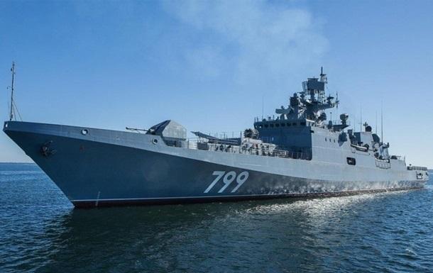 Россия отправила отряд кораблей в Черное море