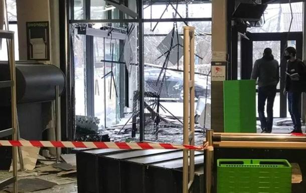 У Київській області в магазині підірвали банкомат