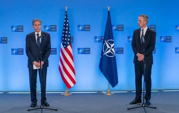 Блинкен и Столтенберг заявили о поддержке Украины