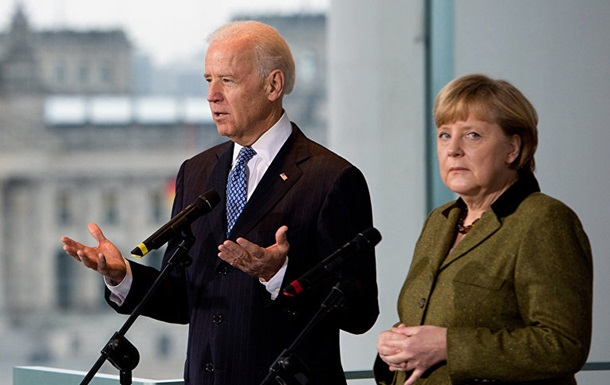 Меркель и Байден обсудили ситуацию в Украине