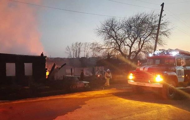 В России при пожаре погибли пять детей