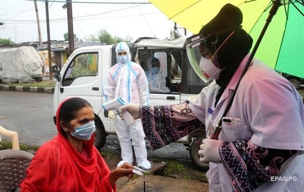 В Індії добовий приріст COVID-19 досяг 200 тисяч випадків