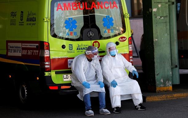 Лидер вакцинации. В Чили рекордный прирост COVID