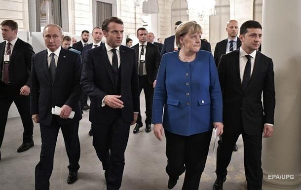 Зеленский и Макрон поговорят с Меркель - СМИ