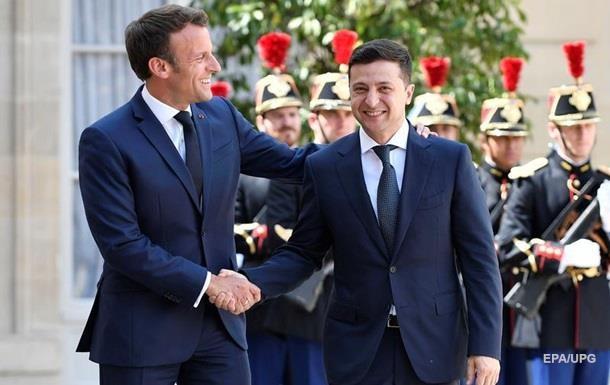 Зеленский надеется, что Макрон оживит «Нормандию»