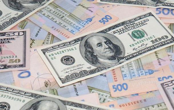 Курс валют: гривна слабеет