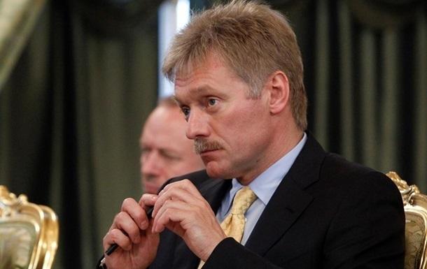 Пєсков сподівається переконати Туреччину щодо  російського  Криму