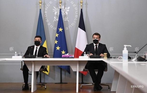 Зеленский рассказал о переговорах в Париже