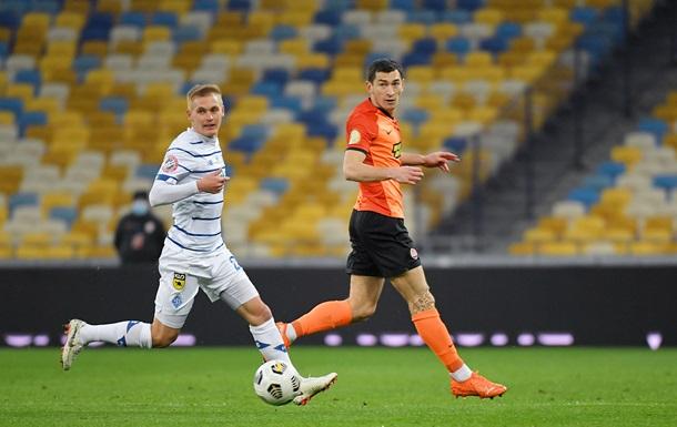 Динамо минимально обыграло Шахтер благодаря голу с пенальти