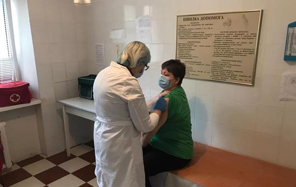 В Украине начали применять вакцину Pfizer