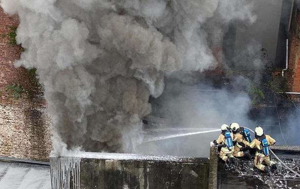 Возле Брюсселя возник масштабный пожар