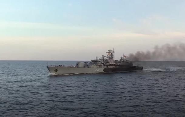 В Черном море прошли украинско-румынские учения