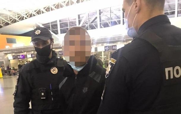 В аэропорту Борисполь задержан подозреваемый в убийстве иностранец