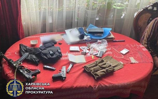 Житель Харківщини зберігав вдома зброю і боєприпаси
