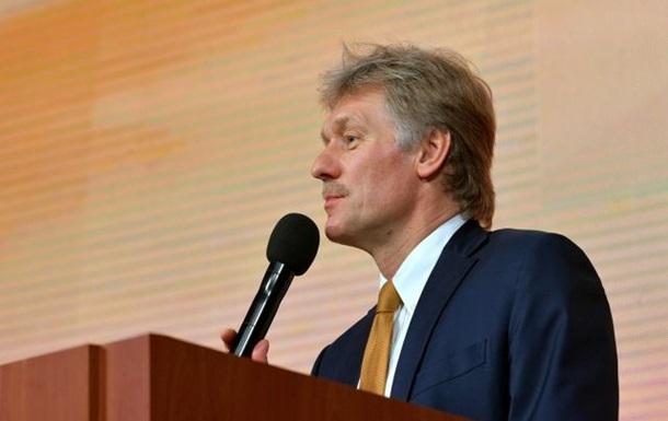Пєсков заявив про  масовий антиросійський психоз