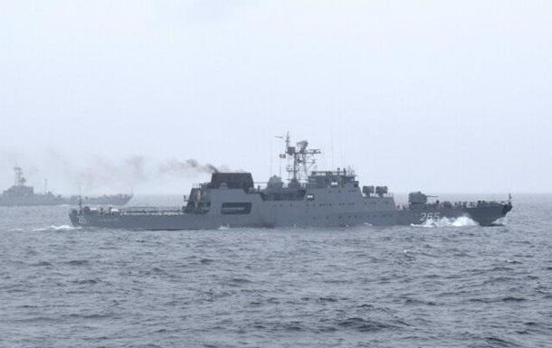Украина и Румыния провели совместные учения в Черном море
