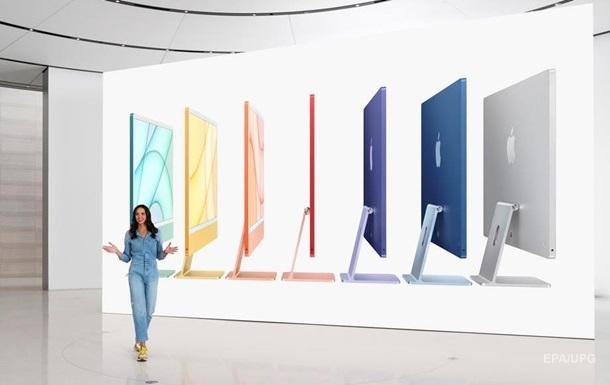 Apple представила разноцветные iMac с новым чипом