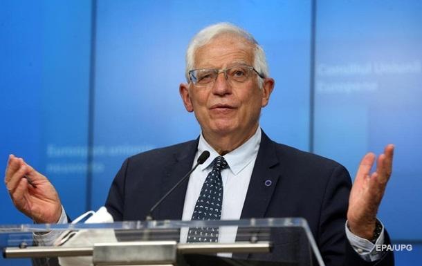 Глава дипломатии ЕС заявил о поддержке Украины