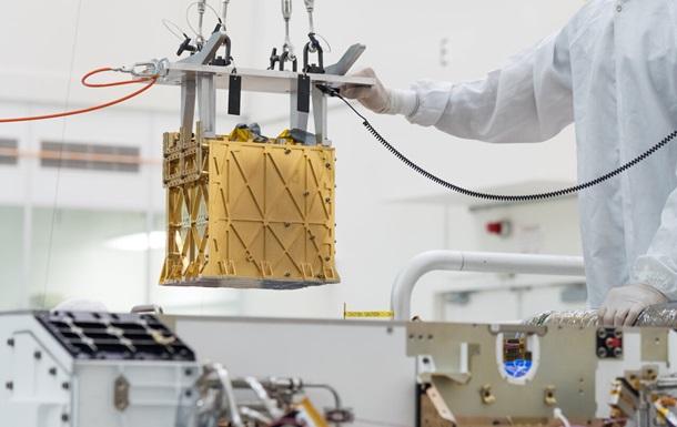 На Марсі вперше виробили кисень